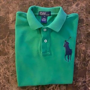Polo by Ralph Lauren Green US Open Big Pony Polo